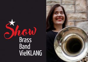 Show Brass Band VielKLANG Dirigentin Andrea Hobson